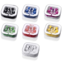 Promotional coloured  earphone earbud