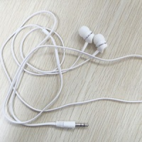 Mini wired promotional earbuds