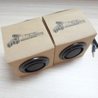 Customized cardboard paper speaker