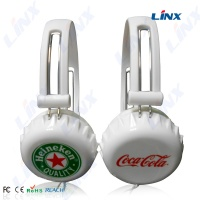 Beer headphone_headset_Earphone_Earpiece_Shenzhen headphone manufacturer