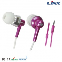 High quality sport metal earphone and headphone for mobile phone