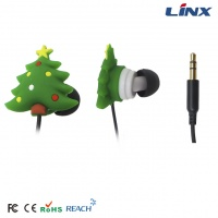 Personalized fashionable headphones promotional bulk earphones for Christmas gift