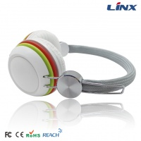 Wired colorful headphone 3.5mm jack