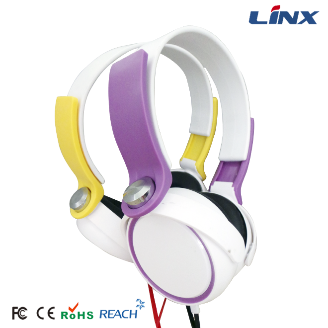 Colorful headphone stereo headphone for iphone