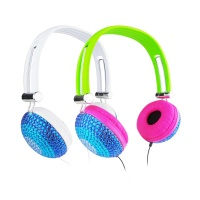 Diamond Promotional Cheap Headphone With Mic LX-131