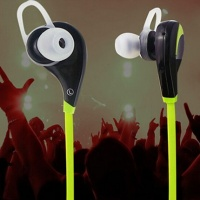 New design Headphone in-ear stereo necklace Bluetooth earphone