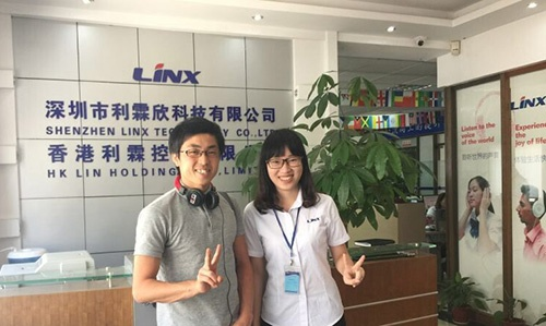 Japanese Client Visited Linx Headphone Factory