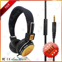 The Best Bamboo Headset with Amazing Sound LX-100W