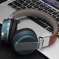 OEM Fashion Premiun headband Wireless Bluetooth headset LX-BT008