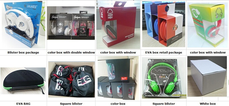 The fine packages of bluetooth earphone