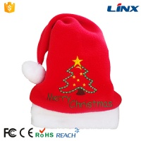 Creative Fashion High Quality Fabric Christmas Hat Headphone LX-MZ003
