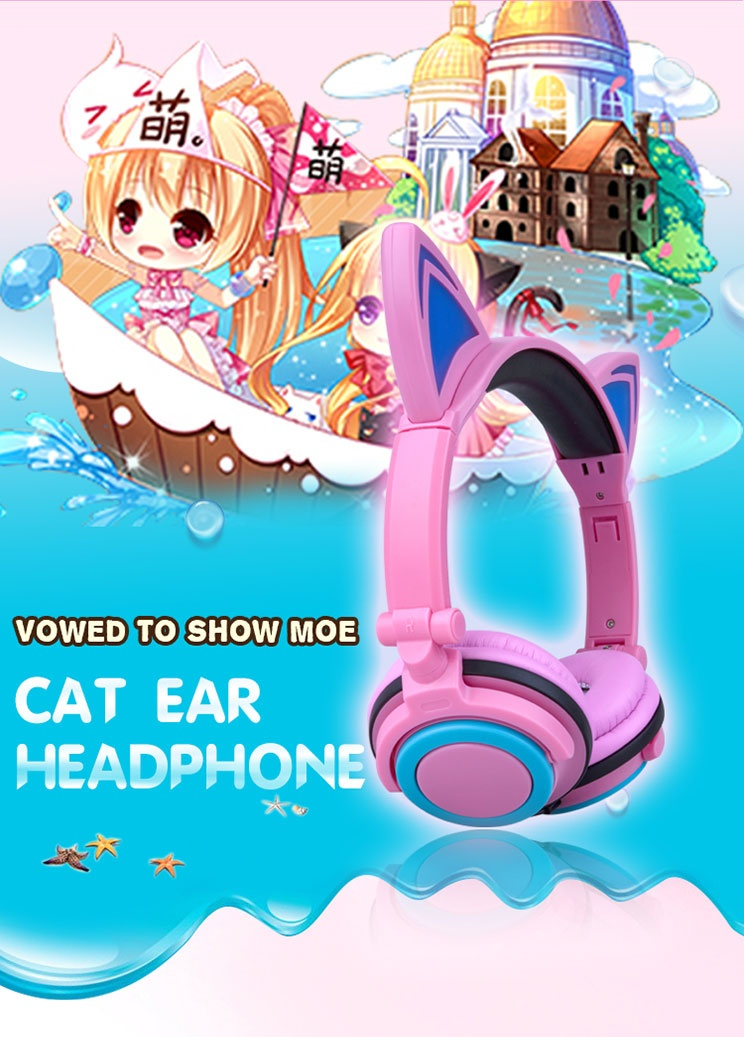 cat ear headphone wholesaler