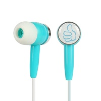 LX-MQ01 3.5mm wired stereo promotion fancy earphone