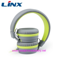 LX-580 High quality foldable soft headband stereo headphone