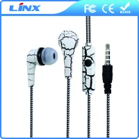 LX-WE003 Creative design in ear fancy earphone for mobile phone