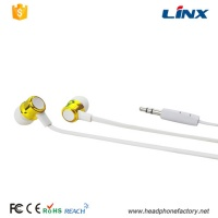 LX-FL89 Stylish in-ear custom metal earphone buds for phone
