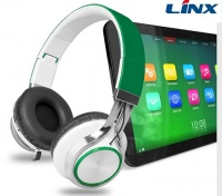 LX-169 Headband Style and 3.5mm Connectors and Microphone Function stereo headphone