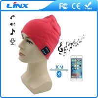 LX-MZ01 Winter Hat Wireless Bluetooth Headphones Headset for Cell Phone