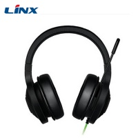 High quality China made custom color wired OEM stereo headphone with microphone