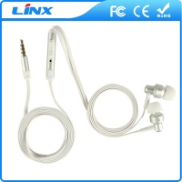 LX-M010 high end in ear metal earphone for mobile phone