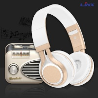 TF SD Card FM Radio Bluetooth Headset For Smartphone