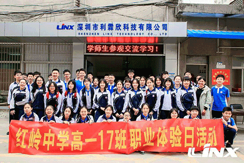 Group photo of teachers and students