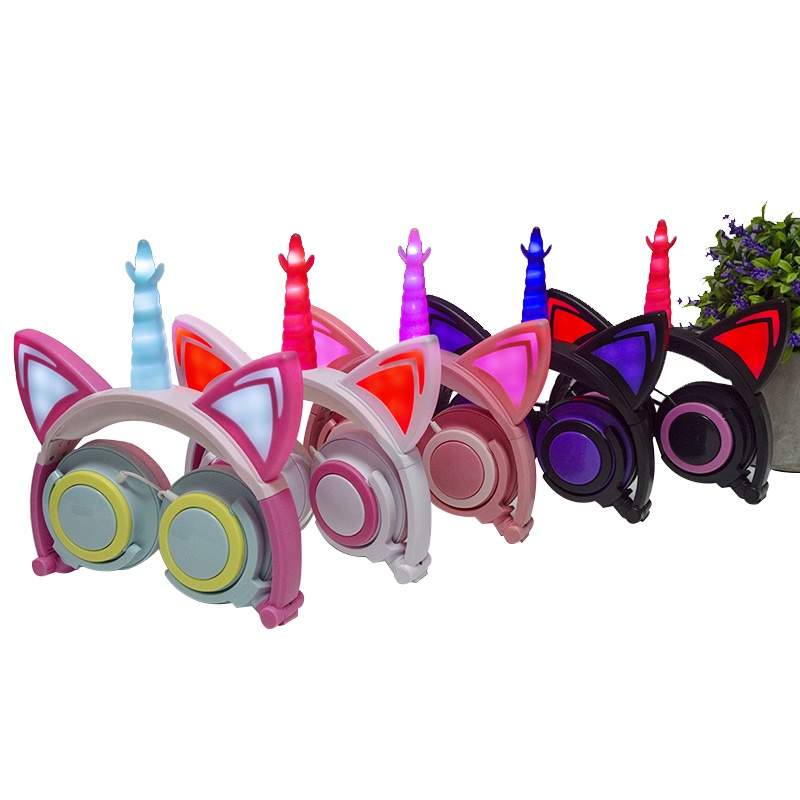 unicorn headphone headsets